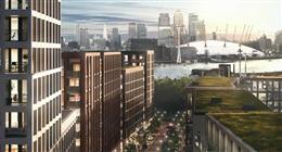 伦敦东区泰晤士河畔大型精装生活社区 Royal Wharf 皇家码头 最新一期