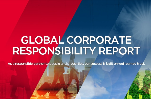 GLOBAL CORPORATE RESPONSIBILITY REPORT